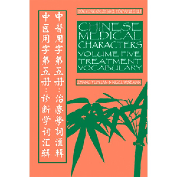 Chinese Medical Characters 5: Treatment Vocabulary